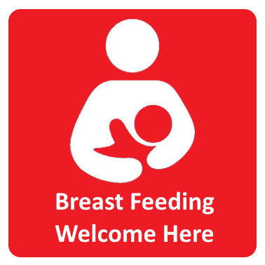 Breast Feeding Welcome Here