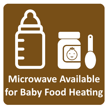 Microwave Available for Baby Food Heating