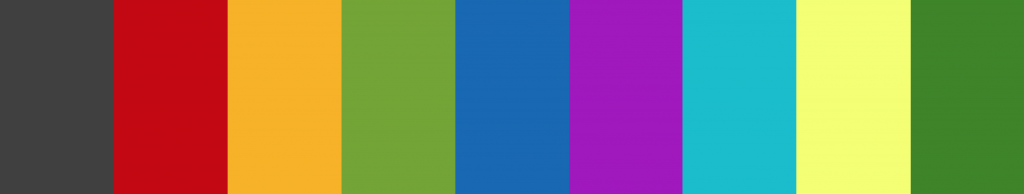 Stripes of Political Party Colours