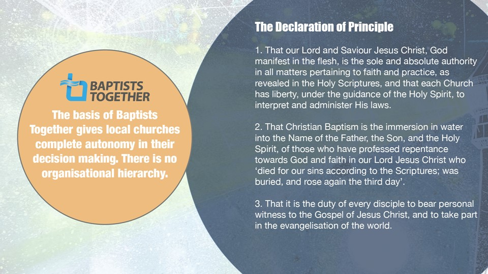 The Declaration of Principle