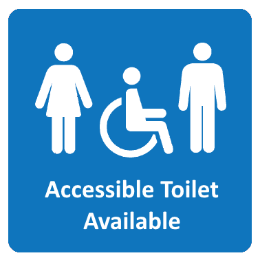 Accessible Toilet Available